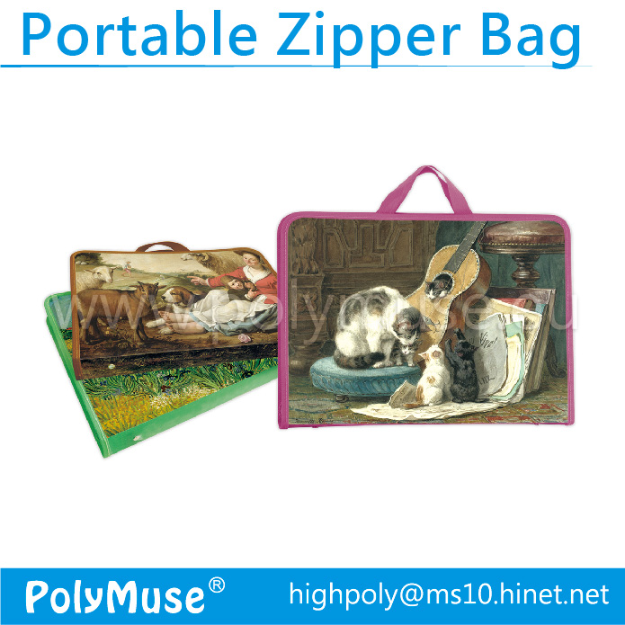 Portable Zipper Bag