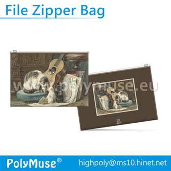 Folder Zipper Bag